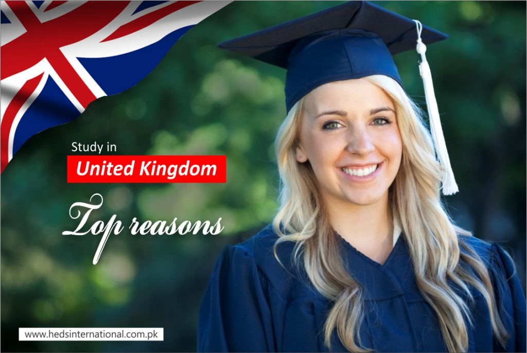 Why study in UK? Let's discuss top reasons
